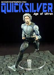 quicksilver movie avengers quicksilver avengers age of ultron custom marvel legends figure