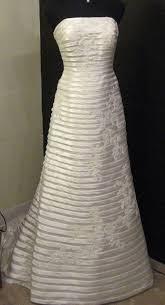 oleg cassini wedding dress beautiful strapless a line oleg cassini wedding gown sz 16 i