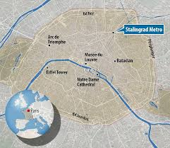 Stalingrad On Map Migrant Battle On The Streets Of Paris After Calais Jungle Camp Is