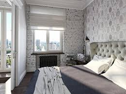 chambre avec papier peint chambre avec papier peint effet cuir gawwal com