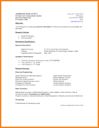 System Analyst Sample Resume Resume Template For Undergraduate Students Augustais
