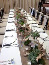 driftwood centerpieces intimate playa destination wedding driftwood