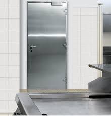 porte battant cuisine porte en acier inoxidable inoxa porte en inox porte coupe feu