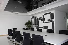 info you are viewing small black and white meeting room is one