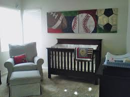 Vintage Baby Nursery Decor by Sports Theme Baby Boy Nursery You Can See That The Paintings