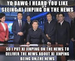 X I Meme - xi jinping visits cctv news china