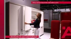 häfele interzum 2015 office kitchen becomes a recreation room
