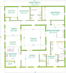 100 floor plans with courtyard courtyard single family home