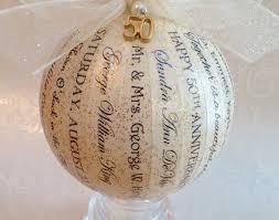 anniversary ornaments ornament amazing 50th wedding anniversary ornaments 30th