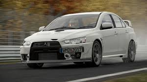 new mitsubishi evo 2017 four mitsubishi evos coming to project cars 2 virtualr net sim