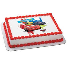 cars cake toppers disney s cars 2 world grand prix edible icing cake