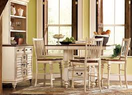 Dining Rooms Southport Pub Table Distressed White Dining Rooms - Havertys dining room furniture