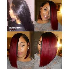 bob quick weave hairstyles quick weave bob on instagram