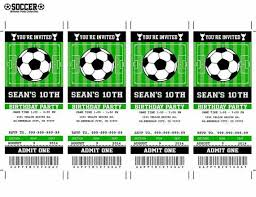 soccer birthday invitations wblqual com