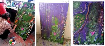 Make Purple Paint 8 Things I Learned About Creativity From Intuitive Painting Wow Now