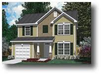 Small Two Story House House Plans By Southern Heritage Home Designs Upstairs Master