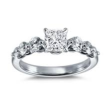 Wedding Rings Princess Cut by Princess Cut Engagement Rings Engagement Rings Brides Com Brides