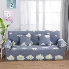 housse pour canapé d angle gris canapé nuage couvre universel stretch meubles couvre pour