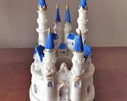 cinderella castle cake topper cinderella castle etsy