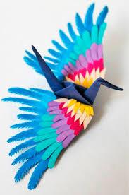 icarus mid air u2013 the 1000 origami cranes of cristian marianciuc