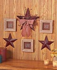 rustic star decor ebay
