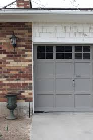 Design Ideas For Garage Door Makeover Wooden Garage Door Makeover Home Desain 2018