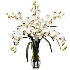 interior u0026 decoration cymbidium orchid artificial flower
