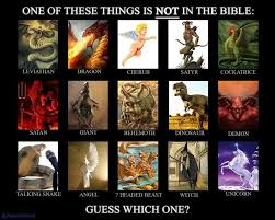 one of these things is not in the bible believers vs non believers