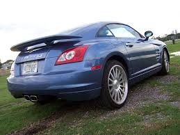 chrysler sports car the chrysler crossfire misadventure car and truck reviews