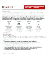 Culinary Resume Skills Chef Resume Example Resume Example And Free Resume Maker