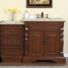 Granite Bathroom Vanity Accord 55 5 Inch Single Sink Bathroom Vanity Venetian Granite Top