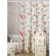 Seashell Fabric Shower Curtain Home Improvement Style