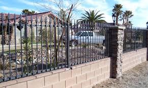 fence garden fence metal enthrall installing metal garden fence
