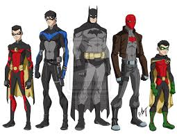 Red Robin Halloween Costume Young Justice Style Tim Drake Red Robin Grayson Nightwing