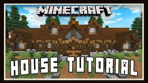 minecraft tutorial how to build a house layout design part 1