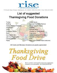 thanksgiving food donation list food photo shared by gigi fans