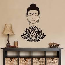 Home Decor Buddha by Popular Lotus Vinyl Buy Cheap Lotus Vinyl Lots From China Lotus