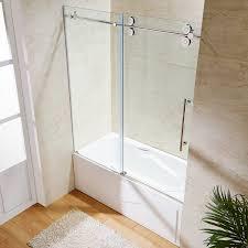 bathtub glass doors frameless best frameless tub doors u2014 home ideas collection standing