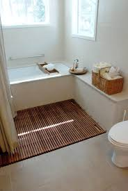 Laminate Wood Flooring In Bathroom Bathroom Astounding Bathroom Decoration Using Grey Wood Laminated
