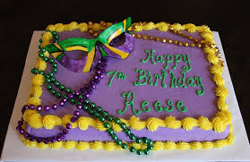 mardi gras cake decorations mardi gras birthday cake cakecentral
