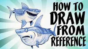 how to draw from reference youtube