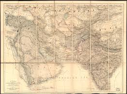 Persia Map A Map Of The Countries Between Constantinople And Calcutta