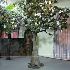 Artificial Tree For Home Decor Silk Flower Tree Garden Decoration Artificial Magnolia Trees Silk