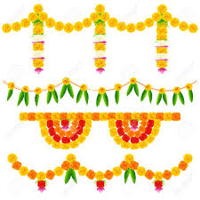 flowers garland hindu wedding yellow flower clipart garland pencil and in color yellow flower