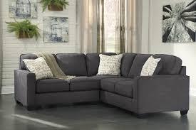 living room beige sectional charcoal microfiber sofa piece l