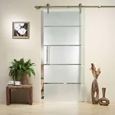 Interior Door Fitting Glass Barn Door Style Interior Doors Door Design