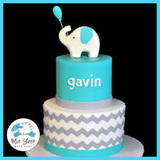 chevron baby shower cake like this in pink and gray for shower