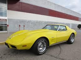 1976 corvette yellow 1976 bright yellow corvette 3 389 units auto junk