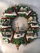 kinkade wreath by the hamilton