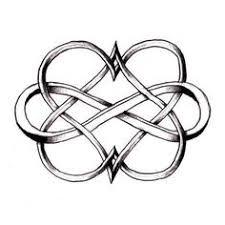eternity heart knot tattoo designs all heart tattoo heart